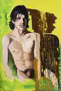 Larry Clark <i>Jonathan (1)</i>, 2014 Oil on canvas 72 x 48 inches  (182.88 x 121.92 cm)