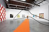 <i>Painting in Space</i> Installation view Luhring Augustine, 2012