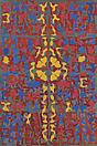 Philip Taaffe <i>Mosaic</i>, 1991 Mixed media on linen 112 1/8 x 91 1/8 inches (285 x 231.5 cm)