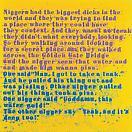 Glenn Ligon <i>Mudbone (Liar) #3</i>, 2004 oilstick and acrylic on canvas 32 x 32 inches (81.3 x 81.3 cm)