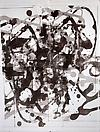 Christopher Wool Untitled, 2004 Silkscreen ink on linen 104 X 78 inches  (264.16 X 198.12 cm)