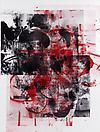Christopher Wool Untitled, 2009 Silkscreen ink on linen 96 X 72 inches  (243.84 X 182.88 cm)