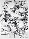 Christopher Wool Untitled, 2010 Silkscreen ink on linen 120 X 96 inches  (304.8 X 243.84 cm)