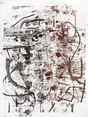 Christopher Wool Untitled, 2010 Silkscreen ink on linen 126 X 96 inches  (320.04 X 243.84 cm)