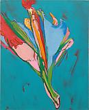 Nicola Tyson <i>Bouquet</i>, 2012 Oil on linen 32 x 26 inches  (81.28 x 66.04 cm)