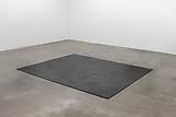 Rachel Whiteread <i>Untitled (Cast Iron Floor)</i>, 2001 Cast iron and black patina, 99 units 1 x 46 x 46 cm each 3/8 x 197 5/8 x 161 3/4 inches (1 x 502 x 411 cm)