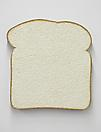 Tom Friedman <i>Untitled (White Bread)</i>, 2013 Styrofoam and paint 36 x 36 x 3 7/8 inches  (91.44 x 91.44 x 9.84 cm)