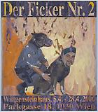 Franz West <i>Der Ficker</i>, 2006 Collage on paper mounted on foamcore 59 1/8 x 51 1/4 inches  (150.11 x 130.05 cm)