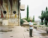 Joel  Sternfeld Paolo Soleri at Arcosanti, Cordes Junction, Arizona, August 2000. 2005 C-print Print: 26 1/2 x 33 1/4 inches