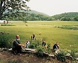Joel  Sternfeld Twelve Tribes Community, Basin Farm, Bellows Falls, Vermont, June 2005. 2005 C-print Print: 26 1/2 x 33 1/4 inches