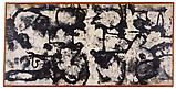 Richard Pousette-Dart <i>Cloud Sign</i>, 1950 Oil and graphite on linen 36 x 74 inches  (91.44 x 187.96 cm)