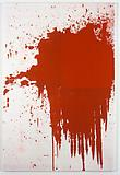 Christopher Wool Minor Mishap II, 2001 Enamel on linen 108 x 72 inches  (274.32 x 182.88 cm)
