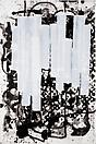 Christopher Wool Untitled, 2001 Enamel and silkscreen ink on linen 108 X 72 inches  (274.32 X 182.88 cm)