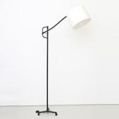 image Jacques Adnet - Adjustable floor lamp / SOLD