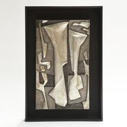 image Roger Desserprit - Metal wall sculpture