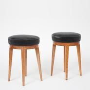 image Francisque Chaleyssin - Pair of Stools