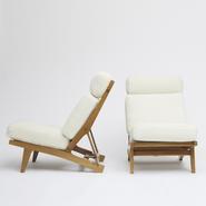 image Hans Wegner - Set of two armchairs