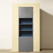 image Le Corbusier - Door-cum bookshelf