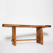 image French 1970 - Wood console / SOLD