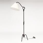 image Attribution in the style of Jean Royere - Floor lamp / SOLD