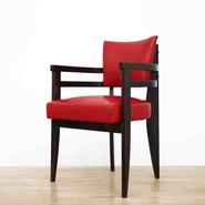 image André Sornay - Red Desk Chair / SOLD