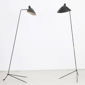 image Serge Mouille - Pair of floor lamps / SOLD