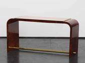 image Jacques Adnet - Coffee Table with Mirror / SOLD