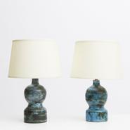image Jacques Blin - Pair of table lamps