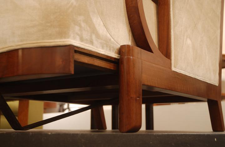 Eugene Printz - Sliding Lounge Chair / SOLD - ARMCHAIRS ...