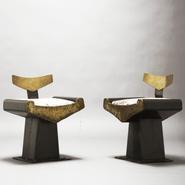image Alain Douillard – Metal Armchair / SOLD