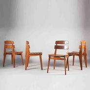 image Jean Prouvé - All Wood Chairs / SOLD