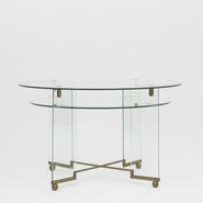 image Fontana Arte - Glass Side Table / SOLD