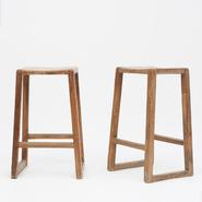 image Pierre Jeanneret - Pair of Stools / SOLD