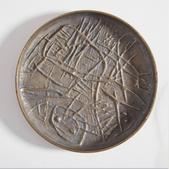 image Arnaldo & Gio Pomodoro - Bronze plate / SOLD