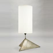 image Alain Douillard - Triangular base lamp / SOLD