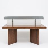 image Pierre Jeanneret - Library table with reading lamp / SOLD