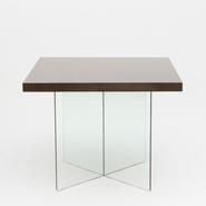 image Jacques Dumond - Glass Dining Table / SOLD