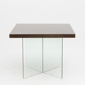 image Jacques Dumont - Glass Dining Table / SOLD