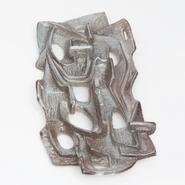 image Beppe Domenci - Brown Ceramic Sconce / SOLD