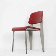 image Jean Prouvé - Red Chair / SOLD