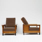 image Jean Burkhalter - Pair of Armchairs / SOLD