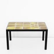 image Georges Jouve - Ceramic Coffee Table / SOLD