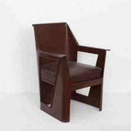 image René Prou - Metal Modernist Chair / SOLD