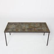 image Les Deux Potiers - Ceramic coffee table / SOLD