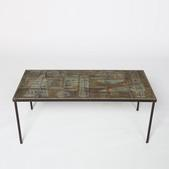 image Les Deux Potiers - Ceramic coffee table
