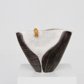 image Mado Jolain - Ovoid Shaped Vase with Streaks / SOLD
