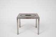 image French Modernism -Metal Coffee Table / SOLD