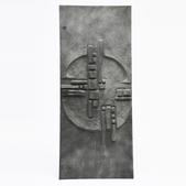 image Roger Desserprit- Brutalist sculpted door / SOLD