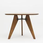 image Jean Prouvé - Pedestal Table / SOLD