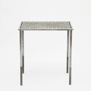 image Attributed to René Herbst - Metal table